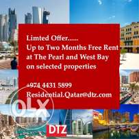 up to two month free rent apartments and villas