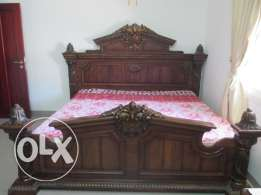 1 Antique Arabic style Master Bedroom furniture in excellent condition