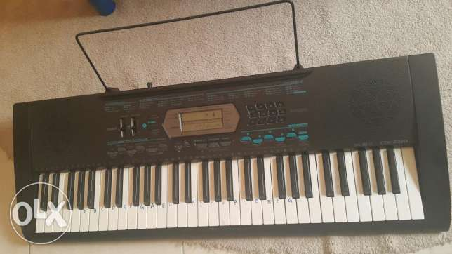 Casio keyboard piano