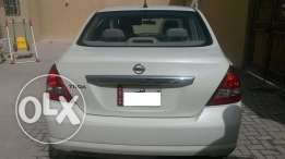Nissan Tida 2009, with one year valid Istimara ,116000KM drived.