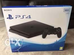 Play station 4 500GB Black