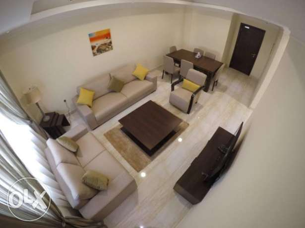 Furnished 2 bedrooms +month free