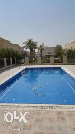 NSAJHC - Semi Furnished 4 Bedroom Villa Compound with Swimming Pool