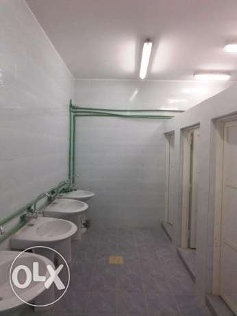 warehouse with rooms for rent 500sm approved by civil dept ind area 38