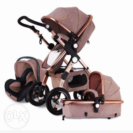 Luxury Baby Stroller 3 in 1 High Landscape for sale