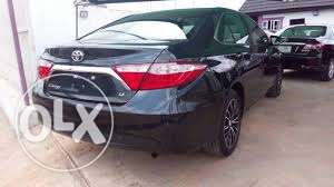 required Toyota Camry GL 2015model