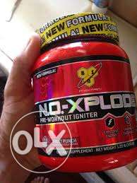 Pre-workout supplement n.o.-explode