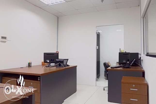 Semi-furnished 5-Room Office Space in Najma