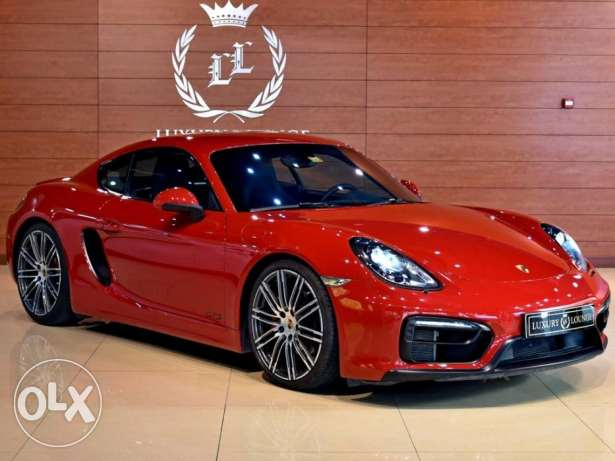 2015 Porsche Cayman GTS, GCC Specs,Under Warranty from Dealer,