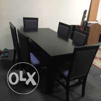 selling Dining Table& 6 cheer