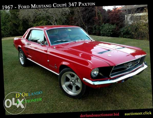 1967 - Ford Mustang Coupè - Engine 347 PAXTON
