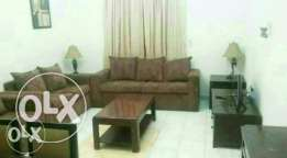 Fully furnished room, 2 bathrooms lounge