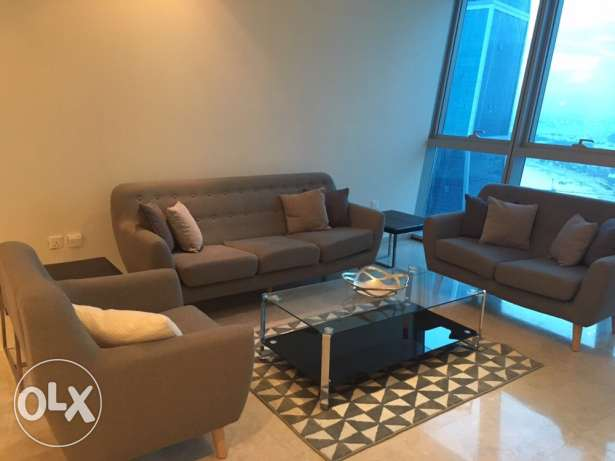Beautiful 2Br furnished at zigzag . west bay lagoon