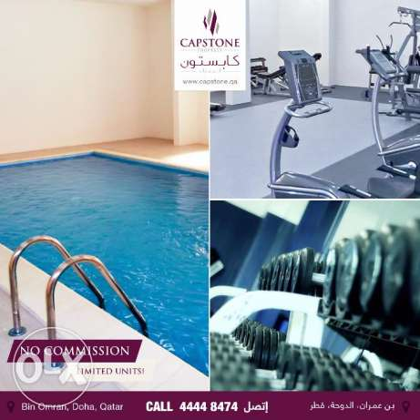 FF 2BR Apt. in Bin Omran w/ access to Pool & Gym (NO COMMISSION)