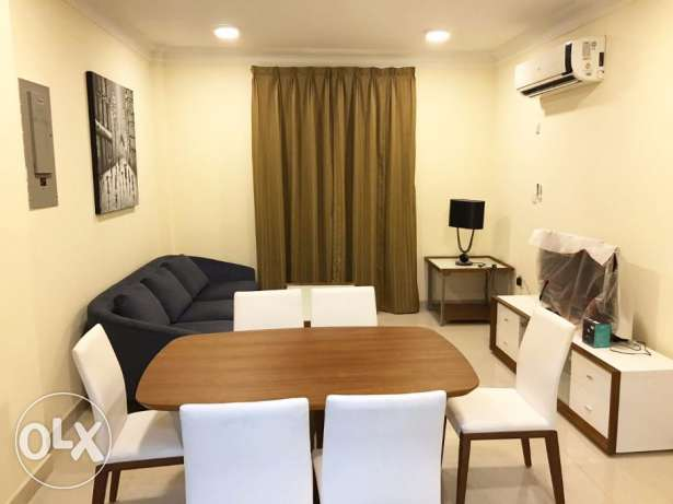 Brand New Fully-furnished 3-Bedroom Flat At -Umm Ghuwailina-