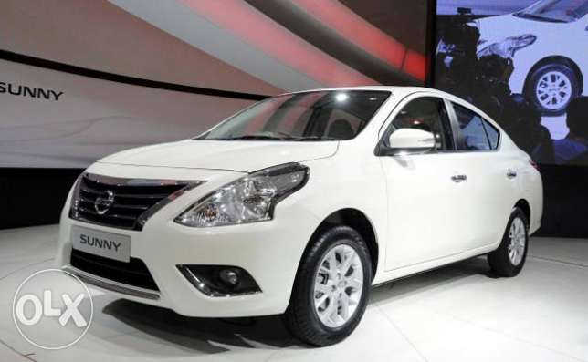Rent to Own - Nissan Sunny - 2015 QAR 1090 for 36 Months