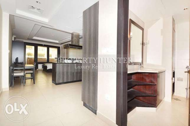 Studio Apartment in Luxury Development الؤلؤة -قطر -  4