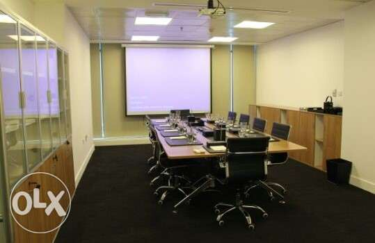 Full floor modern furnished office space 650 sqm