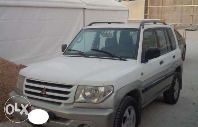 Pajero io for sale