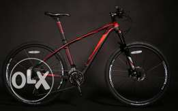 Brand new Carbon Fiber Java MTB bike with Amaising features only 10 KG