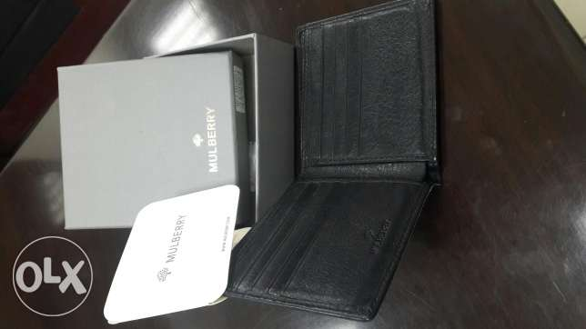 Mulberry Men Wallet