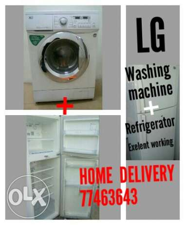 LG-washing machine, Refrigirator home delivery