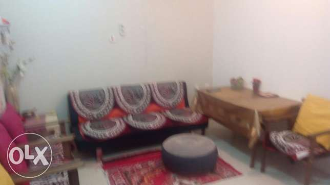 1 bhk fully furnished apartment in garaffa for family