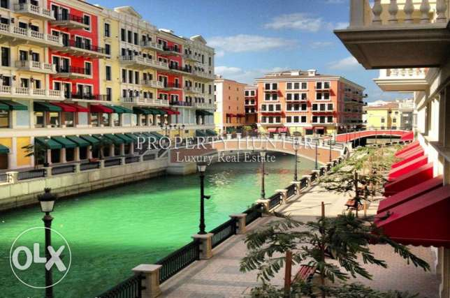 3 Bedrooms apartment with both sea & canal views