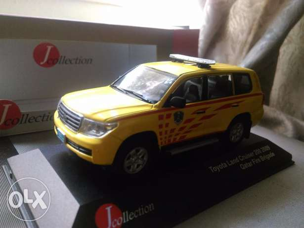 1:43 Qatar fire model car