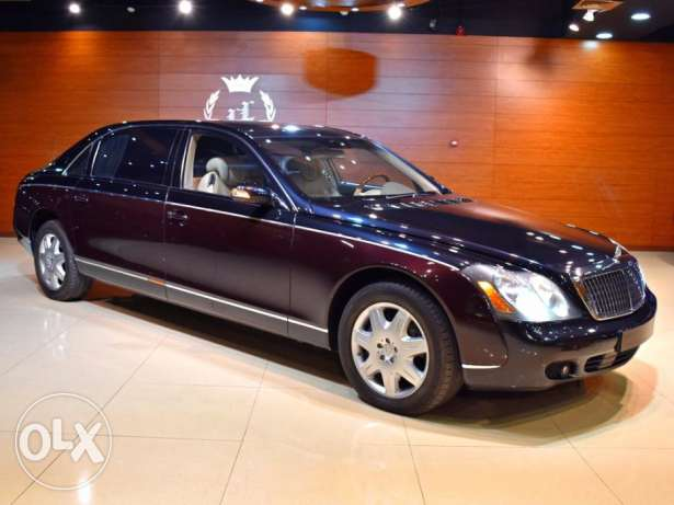 2008Maybach 62S Limousine,GCC Specs (Rear Ent, Veneered Fold able Tabl