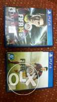 Ps4 games in good condition Fifa14 - 45qr. Fifa15 - 65qr