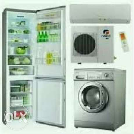 Refrigerator Fridge Ac Repaire Service Fixing Gass Filing