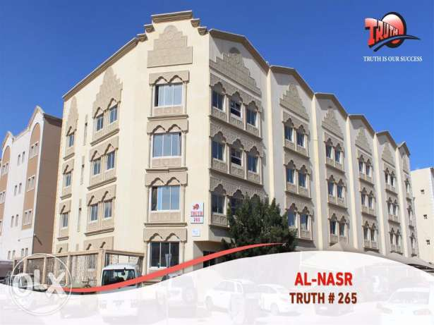 Unfurnished 1-bhk flats for rent in Al Nasr