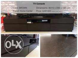 TV Console (like new)