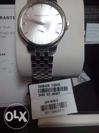 I want sale my watch Raymond weil anwanted gift price 2299 original