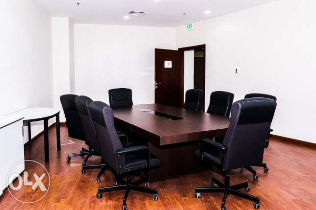 Cost Effective Furnished Office/License in FG Business Center الخليج الغربي -  3