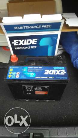 New unused Exide battery for car الوكرة -  2