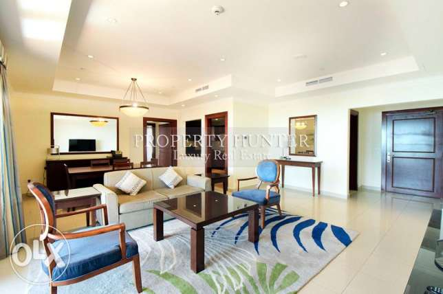 Modern 2 Bedroom Furnished with Sea View