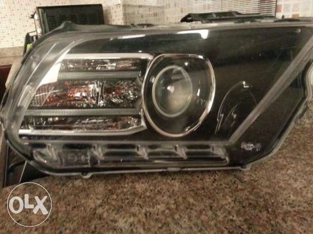 Original Front Head Lamp - right side - for Ford Mustang model 2013/2