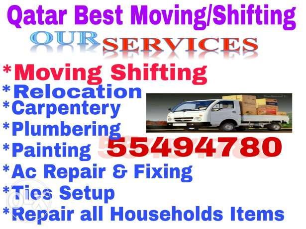Carpentery & moving,painting,plumbing services