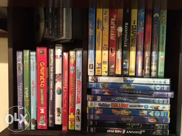 50+ DVDs for Sale (Mostly for kids)