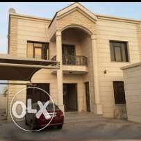 Unfurnished villa flat for rent for families near Al Sadd