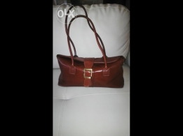 Geniune leather bag made in Italy, brand new