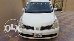 NISSAN TIIDA LOW MILAGE CAR/Very Good Condition/ White Colour
