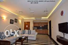 FF 1-Bhk Flat in Musherib+Daily House Keeping,Gym,Pool,Spa,Sauna