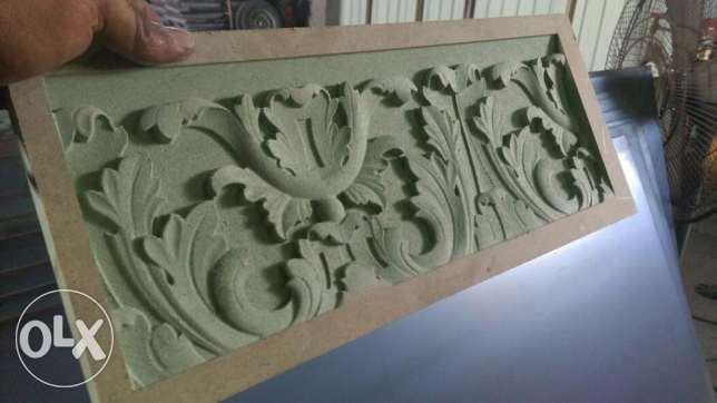 cnc wood carving 2d 3d , laser cutting and plasma cutting service