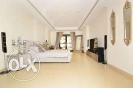 Fully Furnished Beautiful View Studio Apartment in Porto Arabia