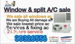 A/C Sell, services & fixing repair A/C Buy...any
