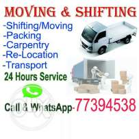 Furniture shifting and moving