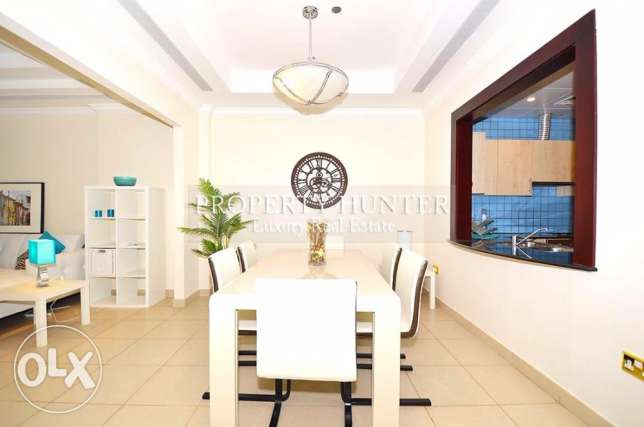 One Bed Residence with Complete Furnitures الؤلؤة -قطر -  5